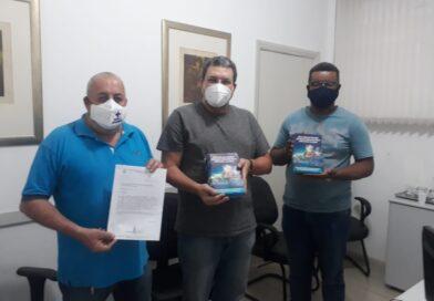 Presidente Eduardo Ayres e diretores solicitam a Tribuna Livre da Câmara Municipal