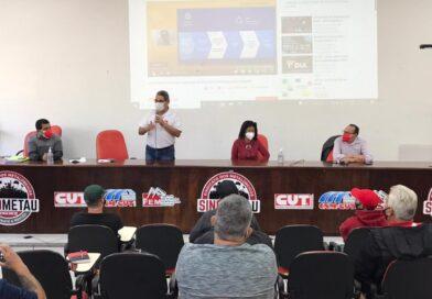 SISEMUG participa de plenária da CUT