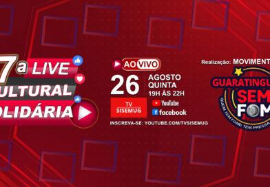 7ª Live Cultural Solidária!